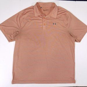 Under Armour Loose Fit HeatGear Striped Polo Shirt